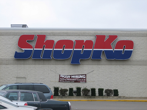 Shopko!!  I stopped there after the brunch.  It's one of many things I miss when I'm in New York.